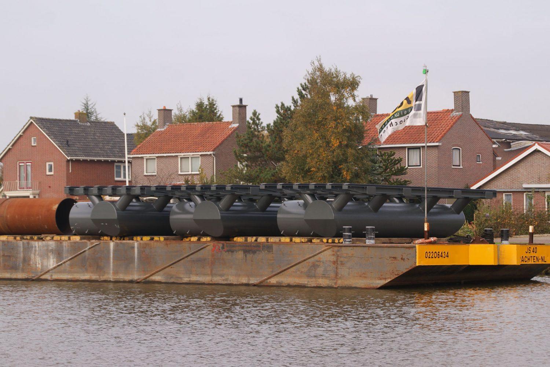 Sterk - Remmingwerk Stationsbrug Franeker
