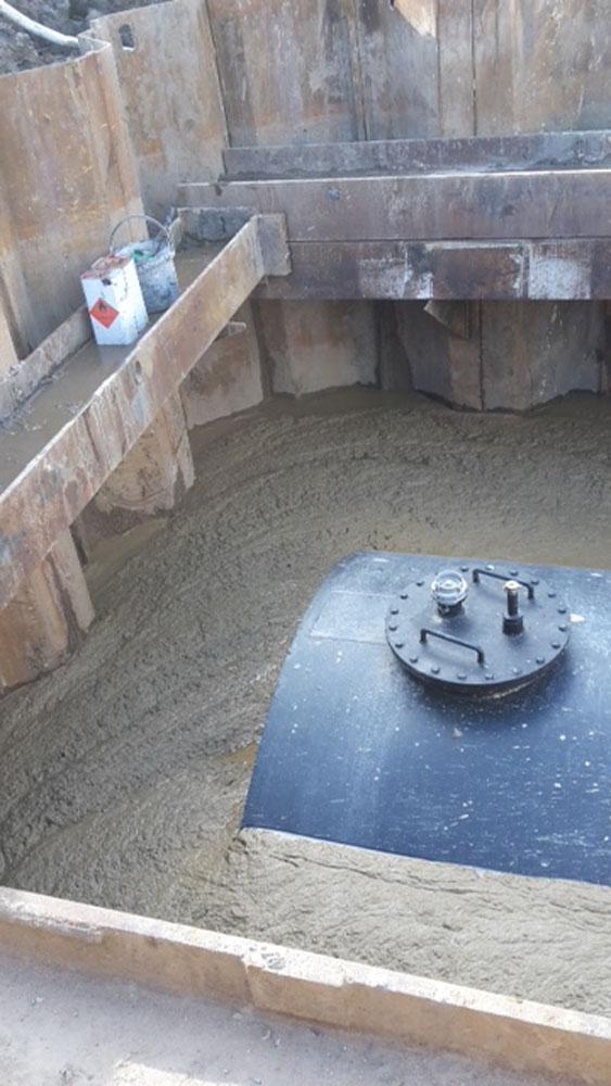 Sterk - Bluswaterreservoir Peine