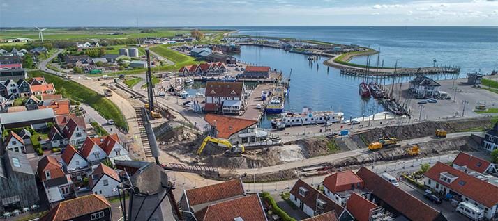 Texel Overzichtsfoto Oudeschild