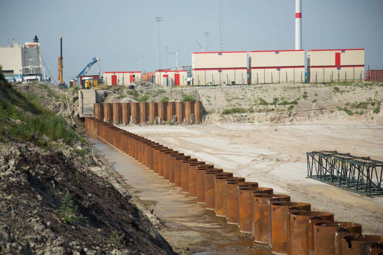 Sterk - Combiwand Zeebrugge