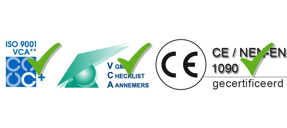 Sterk - Succesvolle VCA, ISO en NEN-EN 1090 Audits