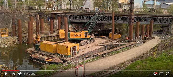 Sterk - Vervangen Spoorbrug Maubeuge (FR)