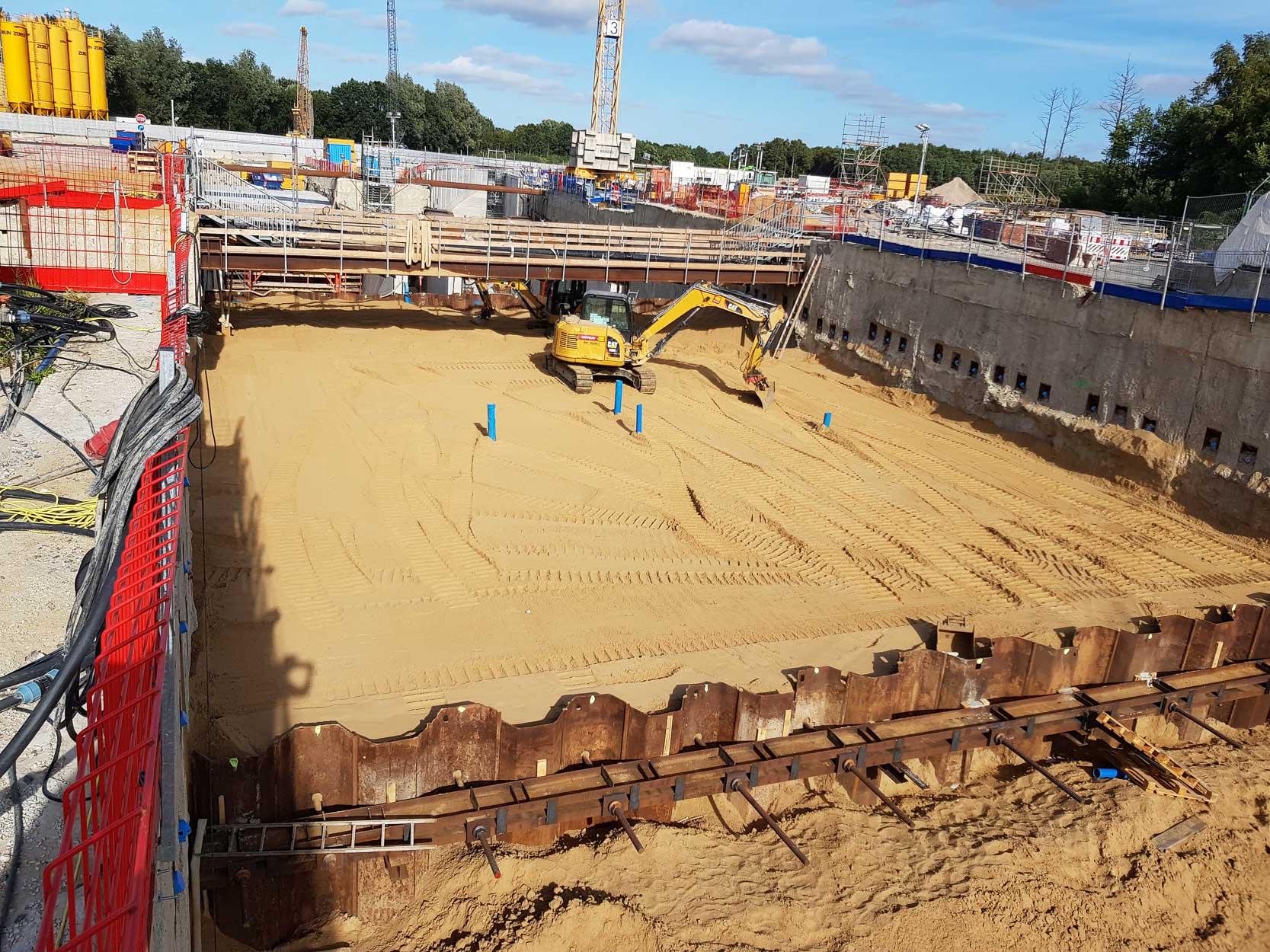 Sterk Spezialtiefbau - Fangedamm Hafentunnel Bremerhaven