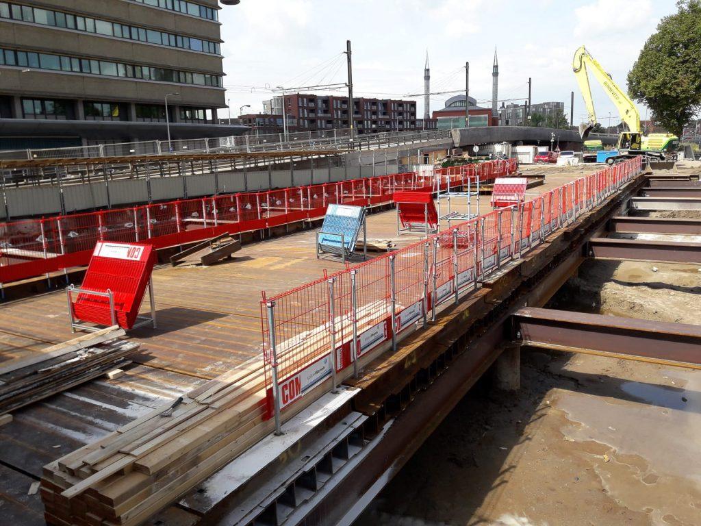 Sterk - Damwand en hulpbrug Utrecht