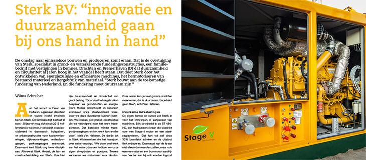 Sterk - OTAR Magazine Duurzaamheid Innovatie GWW INFRA